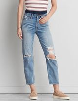 American Eagle Outfitters Vintage Hi-Rise Straight Crop