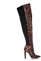 Thumbnail for your product : Moda In Pelle Viramoda Tiger Textured Animal Print