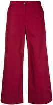 I'M Isola Marras cropped trousers - women - Cotton - 46