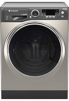 Hotpoint RD966JGDUK Washer Dryer, 9kg Wash/ XX kg Dry Load, A Energy Rating, 1600rpm Spin, Graphite