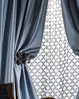 "Amity Home Radiance Silk Curtain, 84""L"