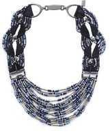 Blackout Multi Bead Necklace