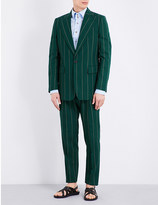 Vivienne Westwood Bayonet striped wool suit