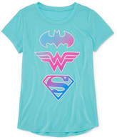Jerry Leigh Super Hero Sheilds T-Shirt- Girls' 7-16