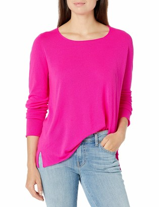 Majestic Filatures Women's Long Sleeve Crewneck Pullover