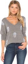 Lauren Moshi Nat V-Neck Pullover