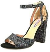 Betsey Johnson Glissten Women Open-toe Synthetic Multi Color Heels.