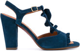Chie Mihara T-bar sandals - women - Leather/Suede/rubber - 36
