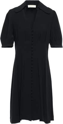 MICHAEL Michael Kors Pleated Crepe Dress