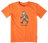 Life is Good Life Is Good? Boys' Day Pack Hike T-shirt.