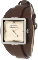 Vivienne Westwood Women's VV008GNBR Cube Brown Watch