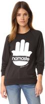 Spiritual Gangster Namaste Stripes Sweatshirt