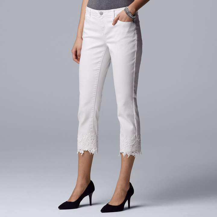 7e1e63a5c0421 Simply Vera Wang Jeans - ShopStyle