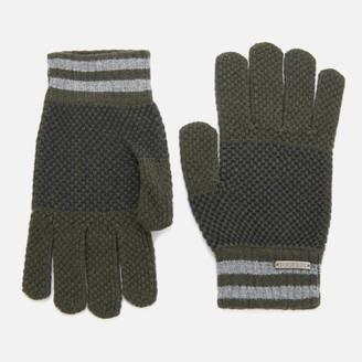 Ted Baker Men's Rushglo Birdseye Merino Blend Gloves