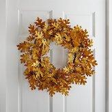Crate & Barrel Oak Leaf Wreath