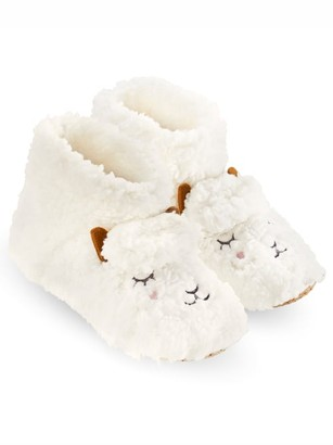 Hue Plush Sheep Bootie Slipper Socks