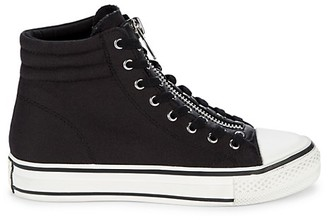 Ash Grant Zippered High-Top Sneakers