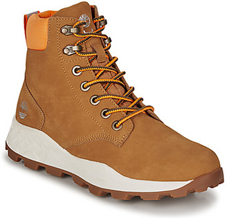 Timberland BROOKLYN 6'' BOOT men's Shoes (High-top Trainers) in Yellow