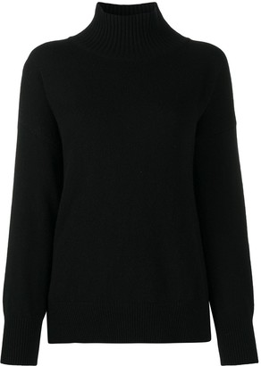 Roberto Collina Split-Hem Roll-Neck Sweater