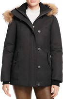 Mackage Roze Fur Trim Hooded Coat