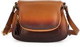 Tom Ford Jennifer Medium Shaded Leather Shoulder Bag
