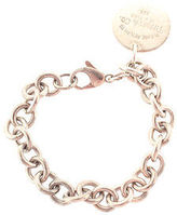 Tiffany & Co. & Co Tiffany&Co Sterling Silver Please Return To Round Tag Bracelet AP4365MHL
