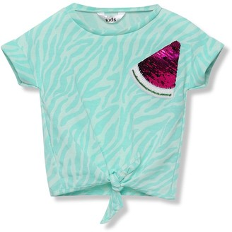 M&Co Two way sequin watermelon t shirt (3-12yrs)