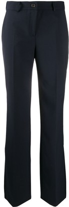 Semi-Couture Flared Tailored Trousers