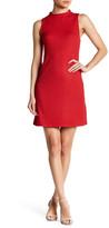 Kensie Mock Neck Ribbed Sleeveless Dress