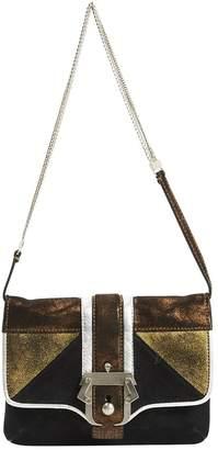 Paula Cademartori Black Suede Handbags