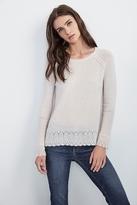 Dalona Sheer Cashmere Raglan Sweater