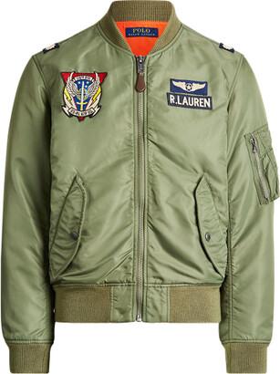 Ralph Lauren Twill Bomber Jacket