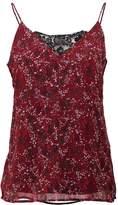 Vero Moda VMCAMILLE SINGLET Vest red