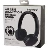 intempo WDS28 Bluetooth Headphones Black