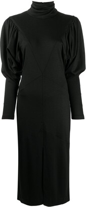 Isabel Marant Roll-Neck Mid-Length Dress
