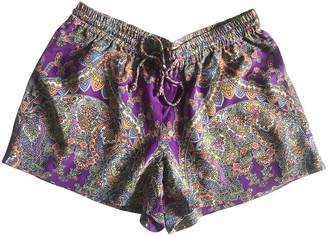J. Lindeberg Multicolour Silk Shorts for Women