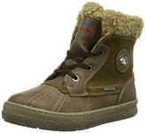 Capt'n Sharky Boys' 470552 Warm lined classic boots short length Brown Size: