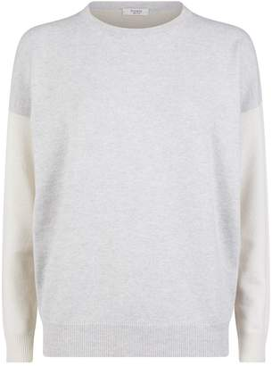 Peserico Lurex Patchwork Sweater