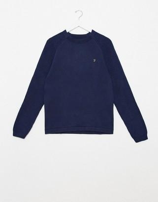 Farah Bouler crew neck sweater