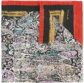 Etro paisley print scarf - men - Silk/Linen/Flax - One Size