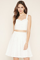 Forever 21 FOREVER 21+ Contemporary Lace Skirt