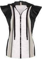 NO KA 'OI Moe Paneled Shell Hooded Vest