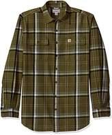Carhartt Men's Big and Tall Hubbard Plaid Shirt