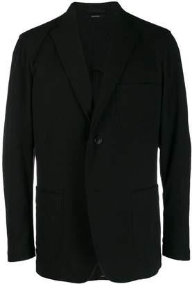 Issey Miyake single-breasted blazer