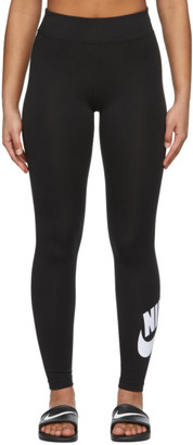 Nike Black Sportswear Leg-A-See Long Futura Leggings