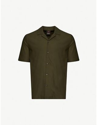 Oscar Jacobson Cid cotton-pique polo shirt