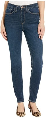 Silver Jeans Co. Calley Super High-Rise Curvy Fit Skinny Jeans in Indigo L95101ASX356 (Indigo) Women's Jeans