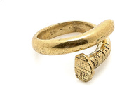 STONES AND BONES NYC Oversized Nail Ring