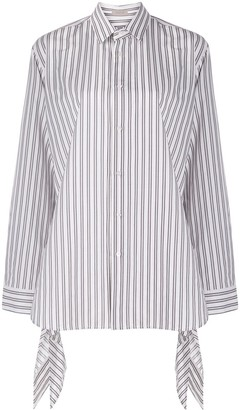 Mrz Boxy Fit Striped Shirt