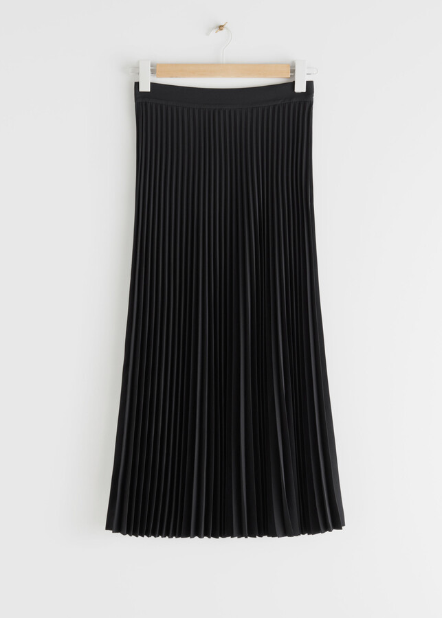 Thumbnail for your product : And other stories Pleated Midi Skirt
